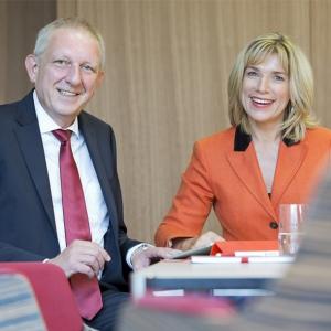 Gabriele Volz & Dr. Rainer Krütten , Geschäftsführung Wealthcap